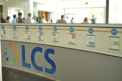 LCS Timeline Wall