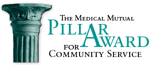 The Medical Mutual Pillar Award for Community Service
