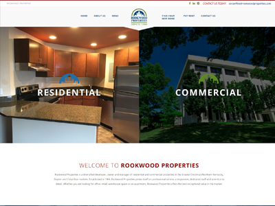 Rookwood Properties Website Example
