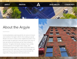 Argyle Website Example