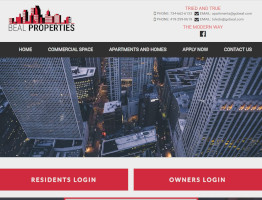 Beal Properties Website Example