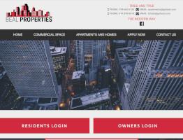 Beal Properties Website Example