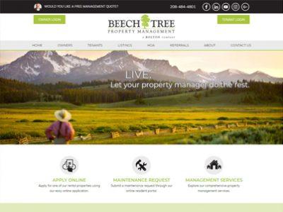Beech Tree Management Screenshot