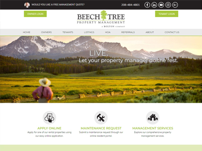 Beech Tree Management Screenshot
