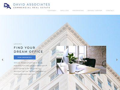 David Associates Website Example