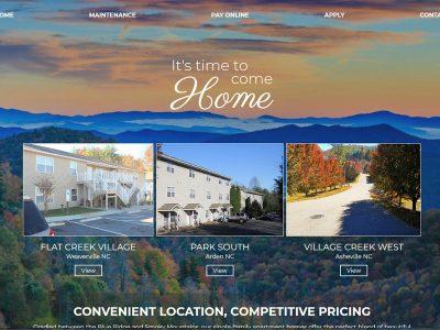 FCV Management Custom Website Screenshot