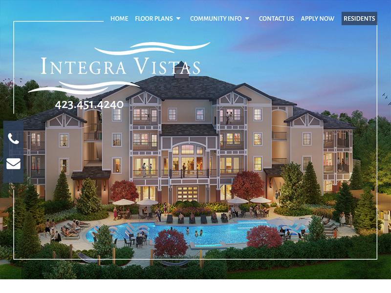Integra Vistas Website Example