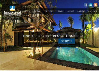 Intracoastal Website Example