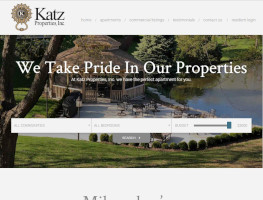 Katz Properties Website Example