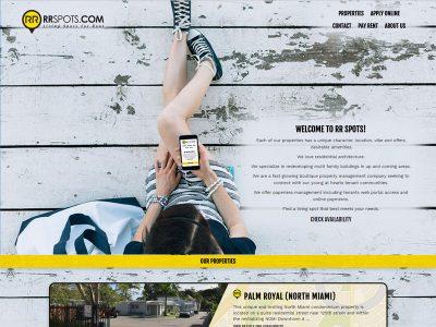 RR Spots Website Example